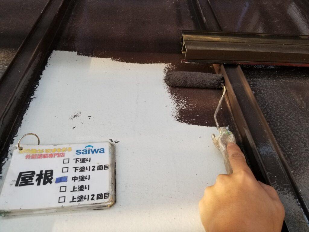 屋根塗り替え 自社職人