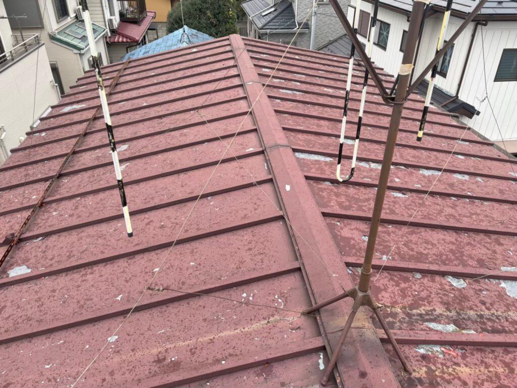 トタン屋根 施工前 金属屋根