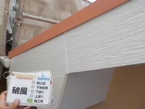 破風 施工後状況 塗り替え さいたま市 塗装