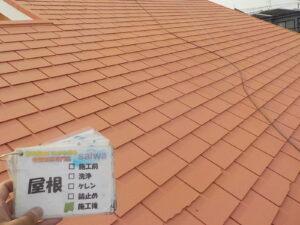 屋根 施工後状況 さいたま市 住宅塗装 塗り替え