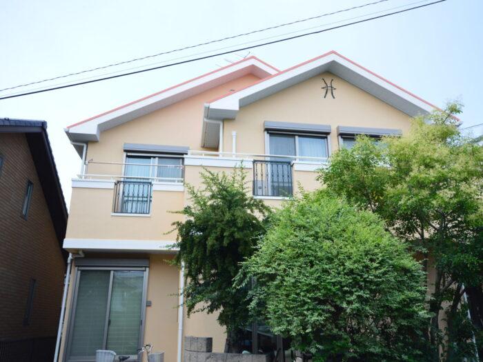 施工後 外壁塗装 屋根塗装 GAINA スムースプラスター さいたま市 塗り替え