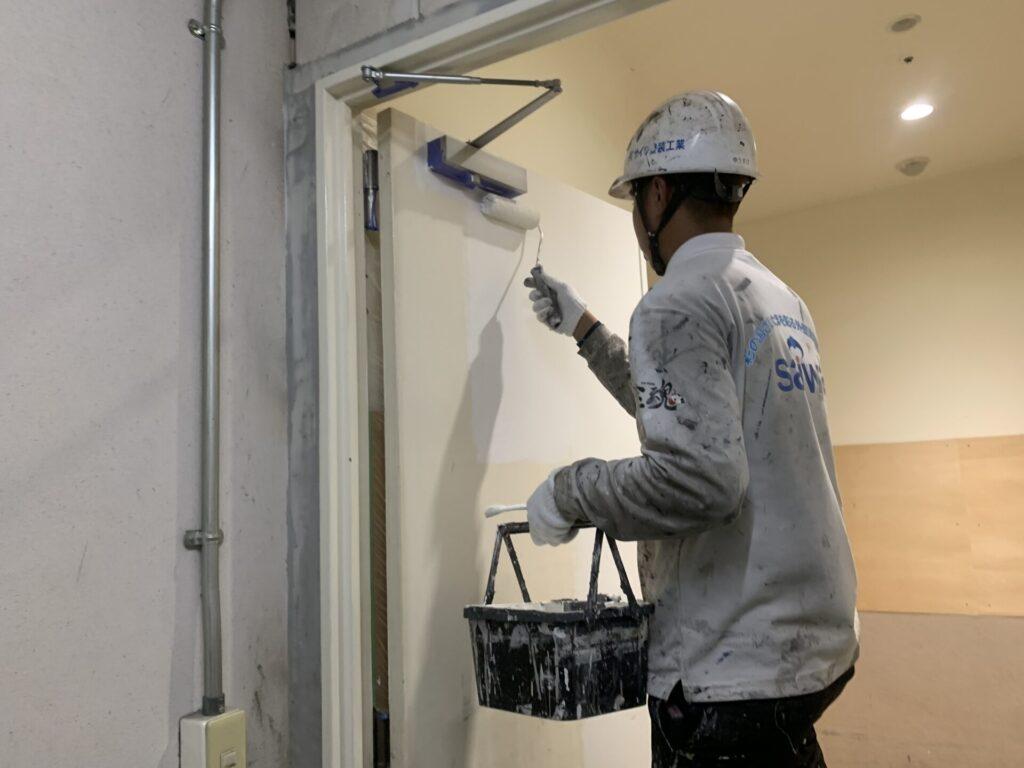 皮脂軟化 塗装 下塗り 密着性 さいたま市 扉 ドア
