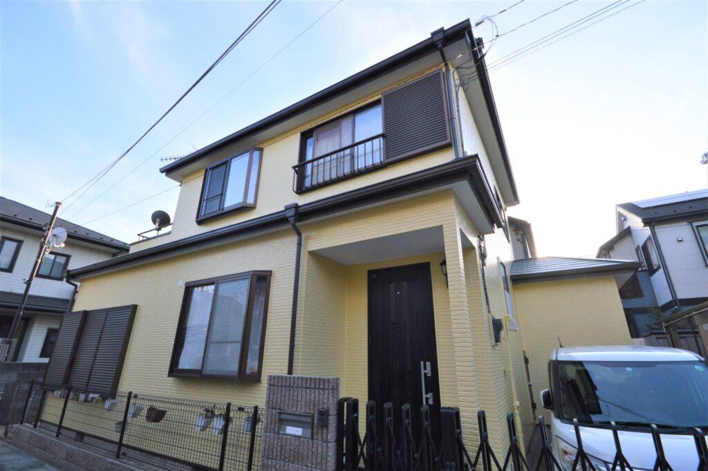 住宅塗装 施工後 外壁塗装 屋根塗装 さいたま市