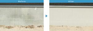 基礎ガード 施行前 施工後 住宅塗装 さいたま市 塗装