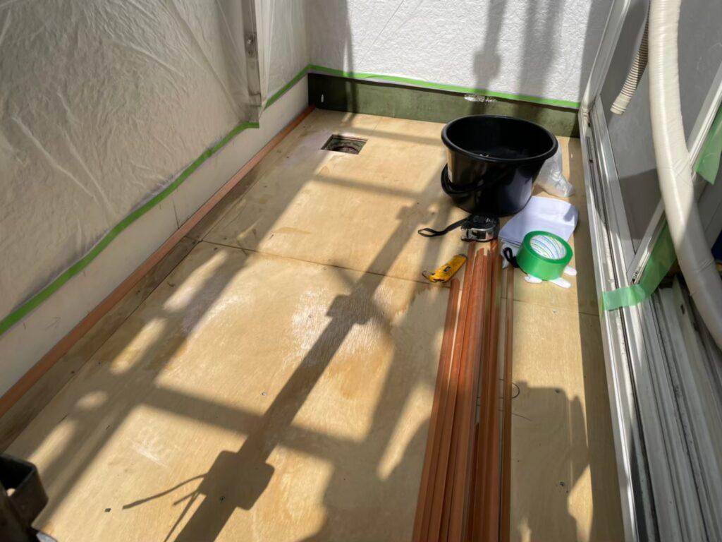 ベランダ 雨漏り 雨漏り119 雨漏り調査