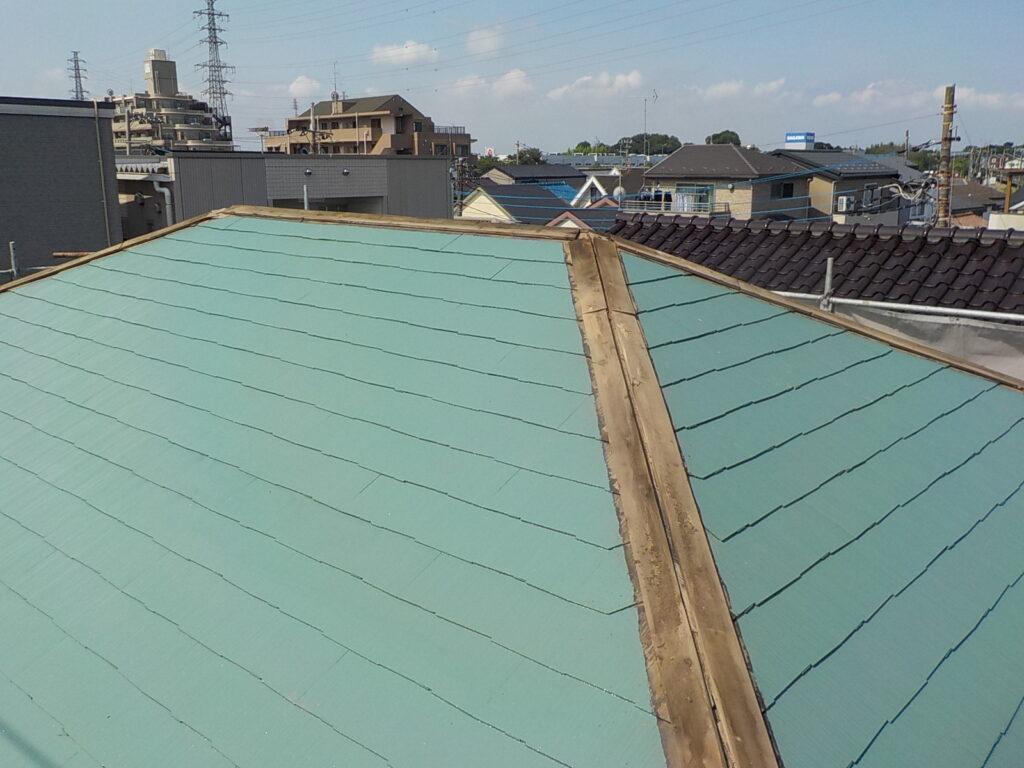 棟板金交換 屋根塗装