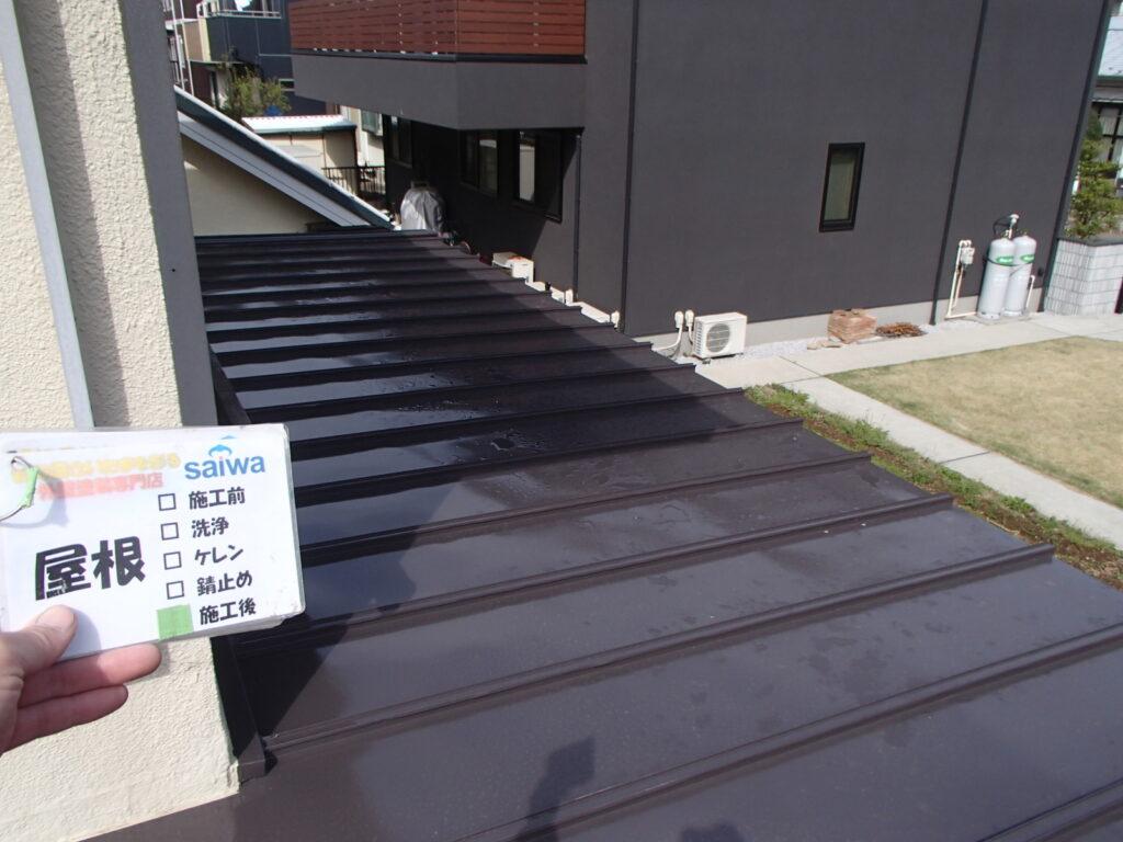 屋根の塗装 トタン屋根の塗装