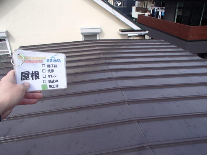 トタン屋根の塗装 塗膜劣化 塗装