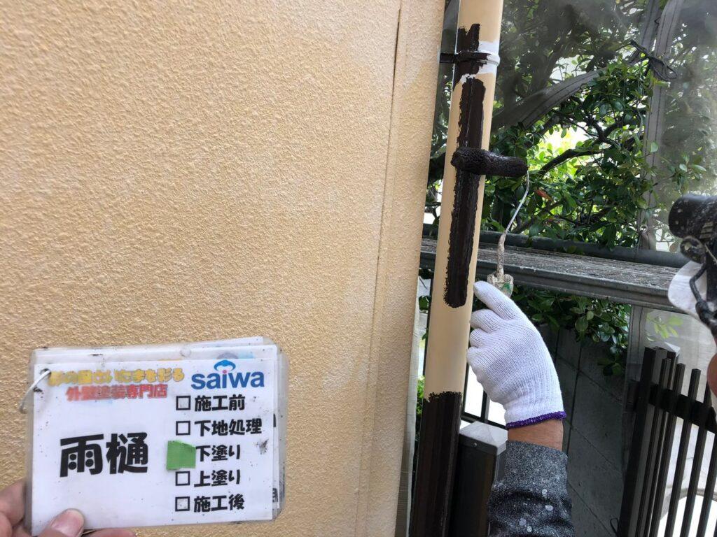 付帯部の塗装 住宅リフォーム さいたまの外壁塗装