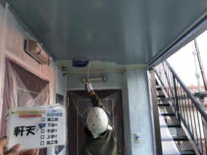 軒天 下塗り さいたま市 屋根塗装 施行前 外壁塗装