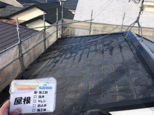 屋根 施工前 塗り替え 屋根塗装 さいたま市