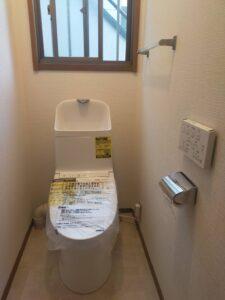 トイレのリフォーム TOTO
