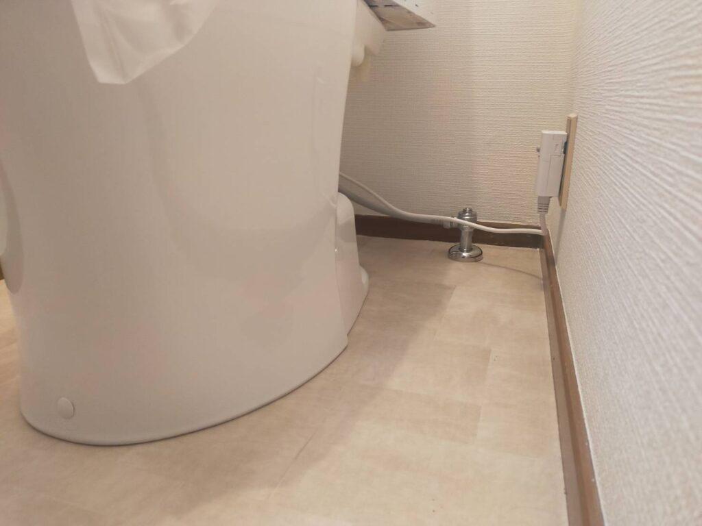 TOTO トイレの交換工事 トイレリフォーム
