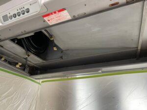 ハウスクリーニング お掃除のプロ 換気扇の汚れ
