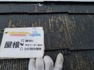 屋根 タスペーサー取り付け 塗り替え 屋根塗装 さいたま市