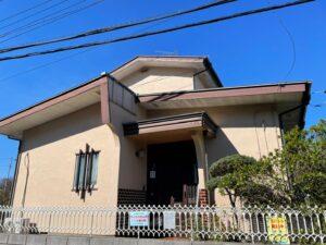 塗装前 施工後 全景 さいたま市 屋根塗装 外壁塗装