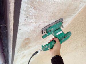 軒天塗装 下地処理 ケレン作業 さいたま市 屋根塗装 外壁塗装