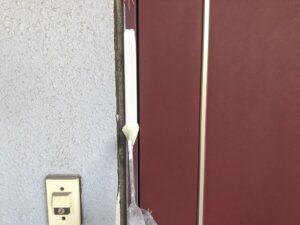 ドア枠 錆止め さいたま市 屋根塗装 外壁塗装