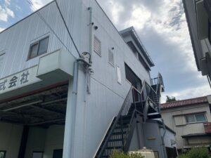 鉄骨階段 施工前 さいたま市 西区 住宅塗装 屋根塗装