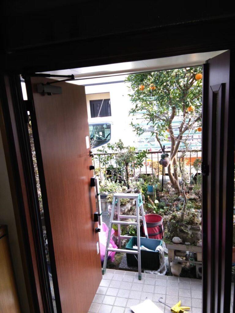 玄関ドアのリフォーム ドア工事 玄関ドア改修工事