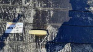 屋根塗装 下塗り2回目 塗装 さいたま市塗装工事