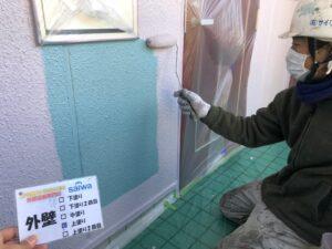外壁 上塗り さいたま市 屋根塗装 外壁塗装