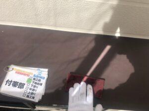 目荒らし 塗装 長持ちする塗装 霧除け 庇の塗装