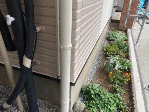 雨樋の塗装 塗装工事 外壁塗装