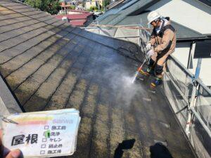屋根 コケ 汚れ 色褪せ 洗浄