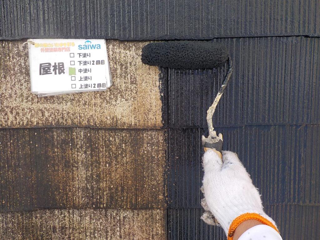 屋根の塗装 遮熱 日本ペイント サーモアイ