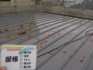 トタン屋根塗装 サーモアイSI 錆 塗装