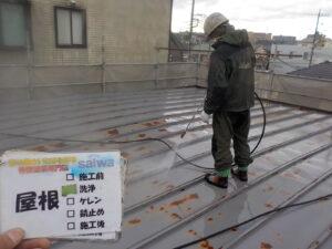 屋根の塗装 塗装工事 屋根洗浄
