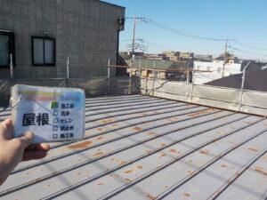 屋根の塗装 折半屋根 塗装