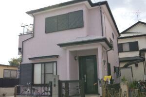 さいたま市 外壁塗装 日本ペイント パーフェクトトップ