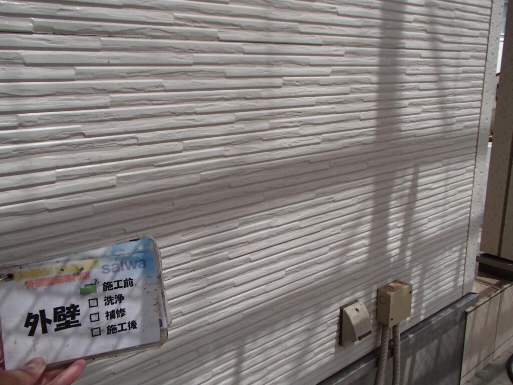 外壁塗装 ベージュ 塗装工事 日本ペイント さいたま市