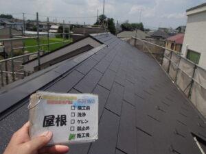 屋根 塗装後 施工後 さいたま市 屋根塗装 外壁塗装
