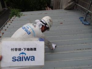屋根の塗装 塗装屋さん うまい 評判 折半屋根