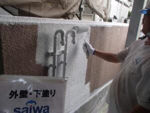 外構の塗装 塗装工事 錆止め