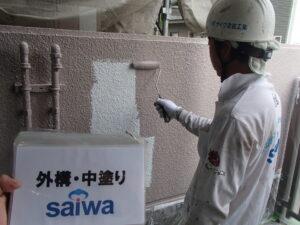 外壁 外構 お家の周り壁 塗装 うまい 高品質