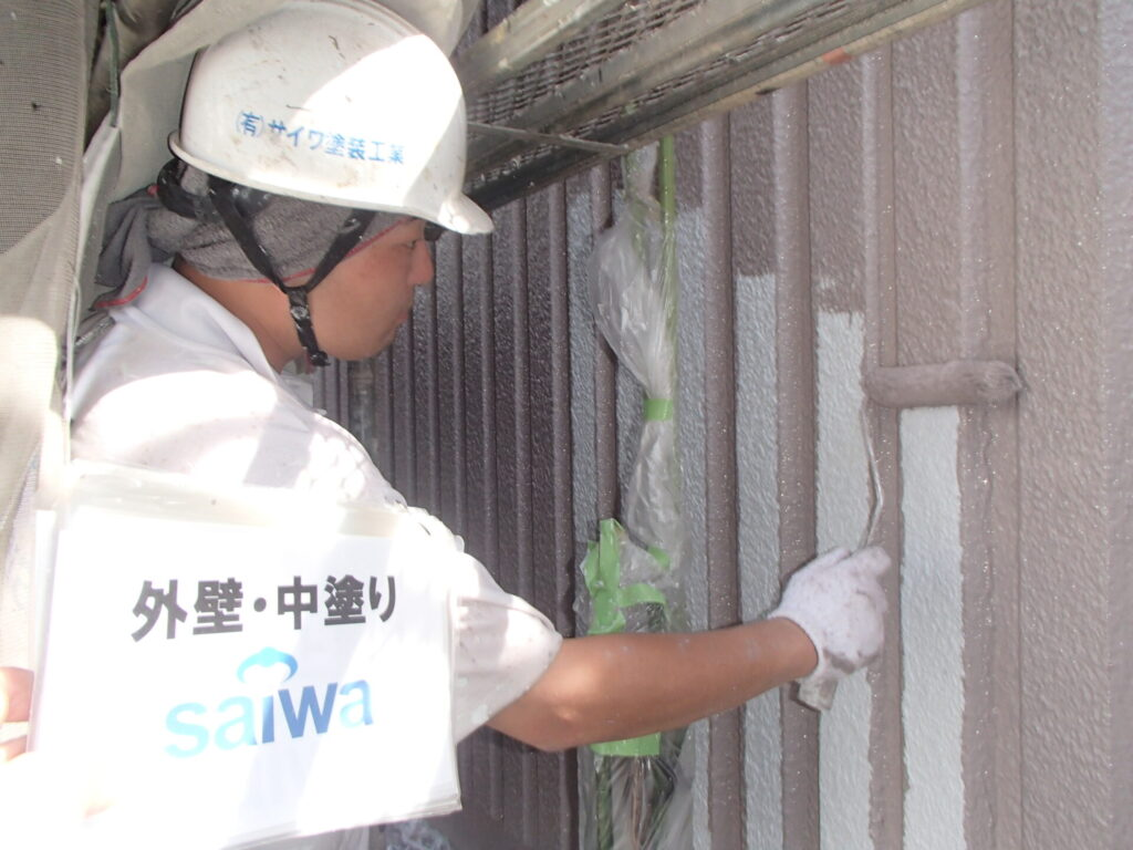 さいたま市 外壁塗装 資格保有者 うまい 住宅塗装