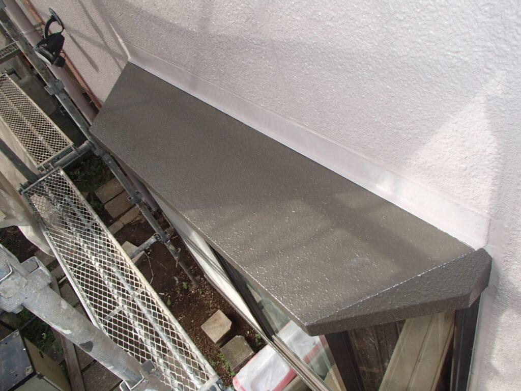 霧除けの塗装 さいたま市 塗装 家の塗替え