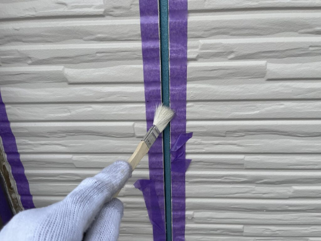 シーリング プライマー はけ塗り 外壁塗装 さいたま市