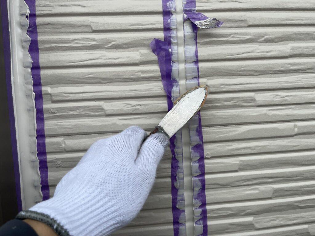 シーリング ヘラ押さえ さいたま市 西区 外壁塗装