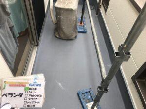 ベランダ 塗装 防水工事