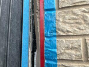 さいたま市西区 住宅シール 劣化 サイディング目地