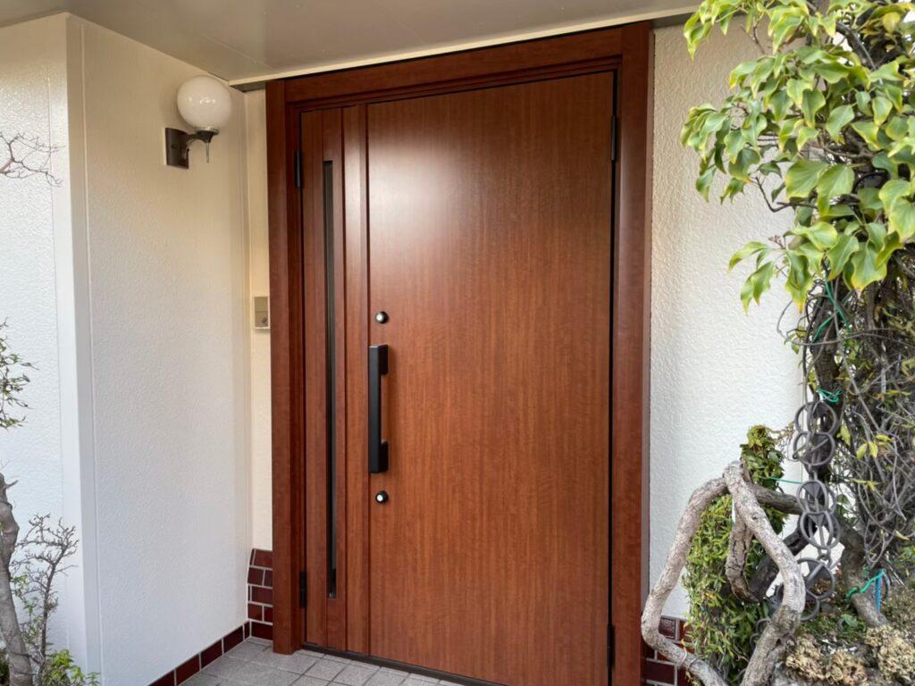 玄関ドア 交換 リフォーム リシェント