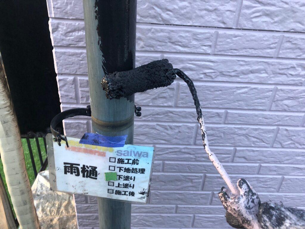 雨樋の塗装 さいたま市外壁塗装 高品質 評判