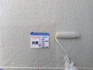 外壁塗装 上塗り さいたま市 西区 塗装リフォーム