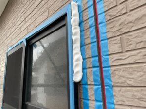 サッシ廻りのシーリング 窓回り 増し打ち 厚み コーキング