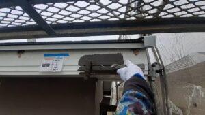 破風 下塗り さいたま市 屋根塗装 外壁塗装